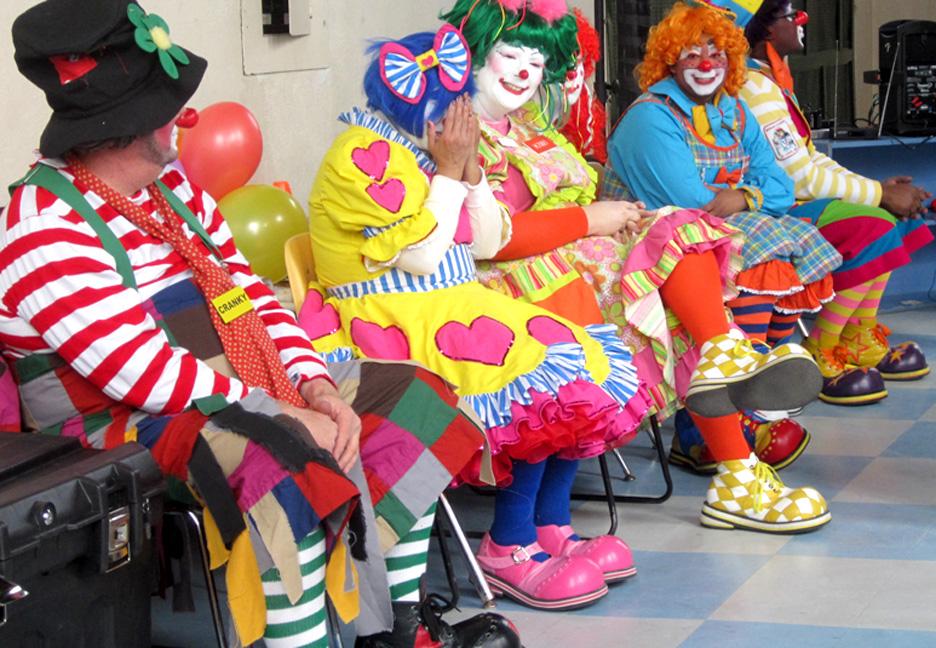 Mott Campus Clowns at PIC
